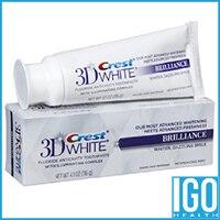 Crest 3D White Brilliance Enamel Safe Teeth Whitening Toothpaste Mesmerizing Mint Flavor 4 1 Oz