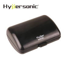 Hypersonic Universal Euro Black Mini Car Plastic Coin Holder Bracket For Office Hotel