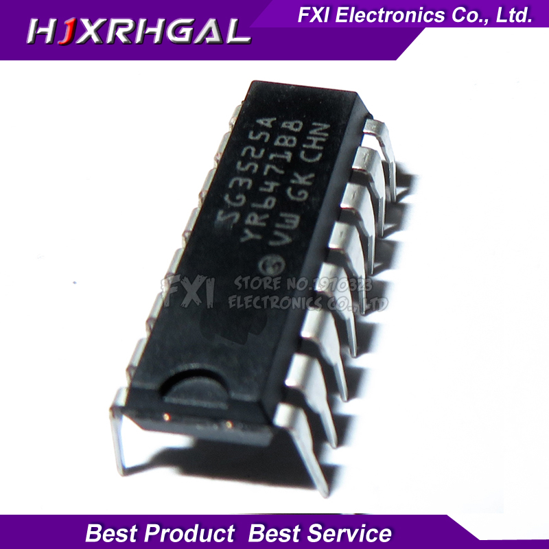10PCS SG3525AN SG3525A DIP16 DIP SG3525 new original-in Integrated Circuits from Electronic Components & Supplies
