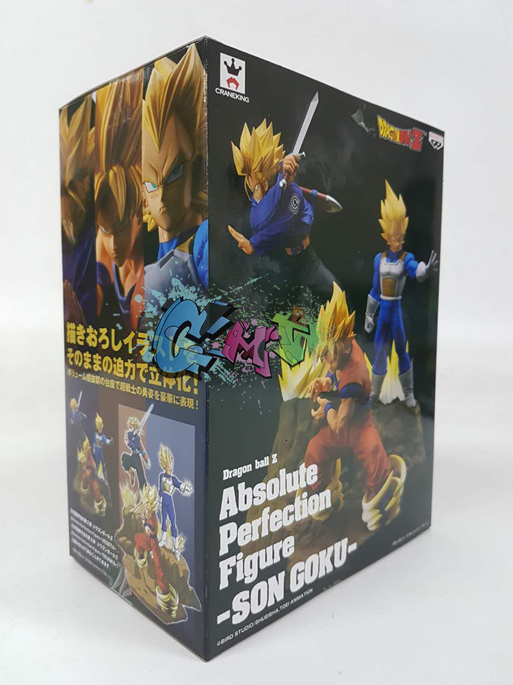 Absolute Perfection Son Son-Goku Ssj PVC Figure Banpresto Action- & Spielfiguren Dragon Ball Z