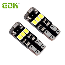 100pcs/lot Wholesale LED CAR T10 9SMD 2835 Bulbs 194 168 W5W Canbus For Car Interior Map lights Dome