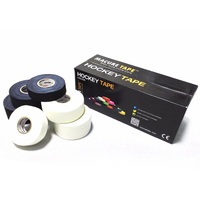 3 Size Cloth Hockey Tape Sport Safety Basketball Knee Pads Hockey Stick Tape Elbow Golf Tape