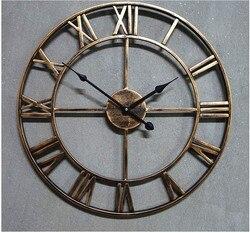 2019 Handmade ponadgabarytowych 3D Retro rustykalny  dekoracyjny luksusowa sztuka duży sprzęt drewniany Vintage duży zegar ścienny na ścianie na prezent