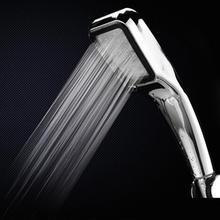 Ручным душем давление экономия продукта голову насадка отверстия душа комната ванная