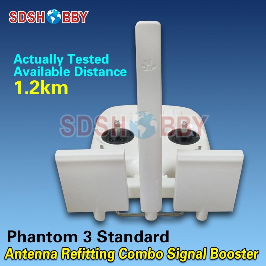 Phantom 3S 3SE Antenna Refitting Long Range Antenna Booster Refitting Combo White