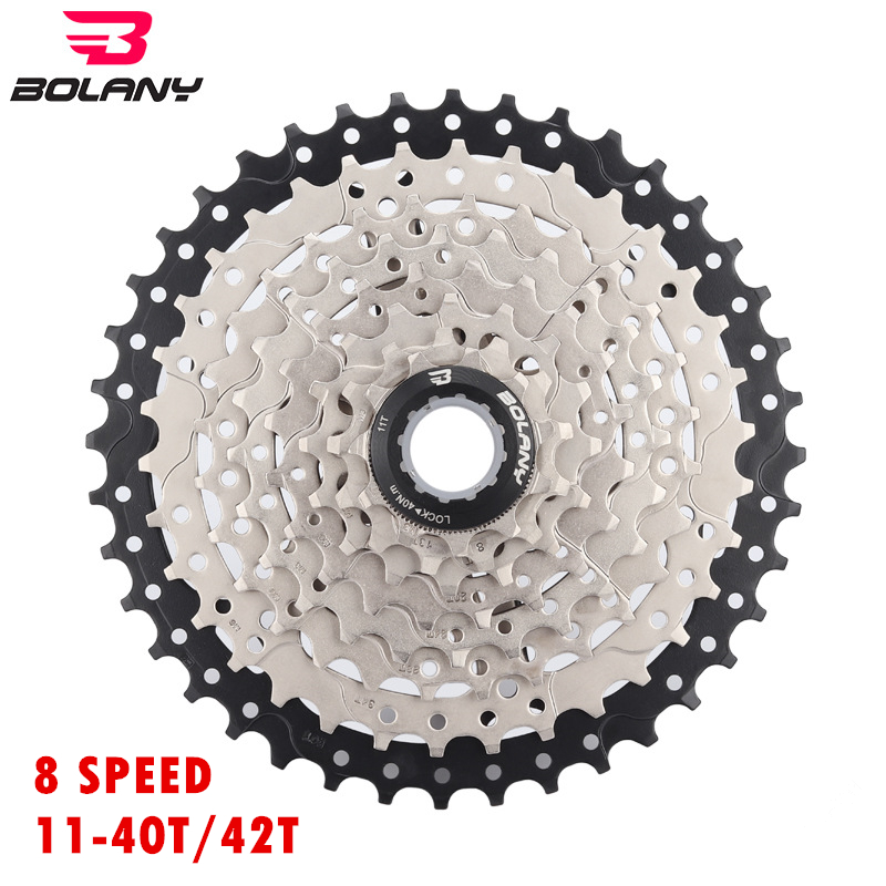 Bolany Mountain Bike Freewheel 10 Speed Cassette 11-46t For Shimano Sram 2colors Cycling Bicycle Components & Parts