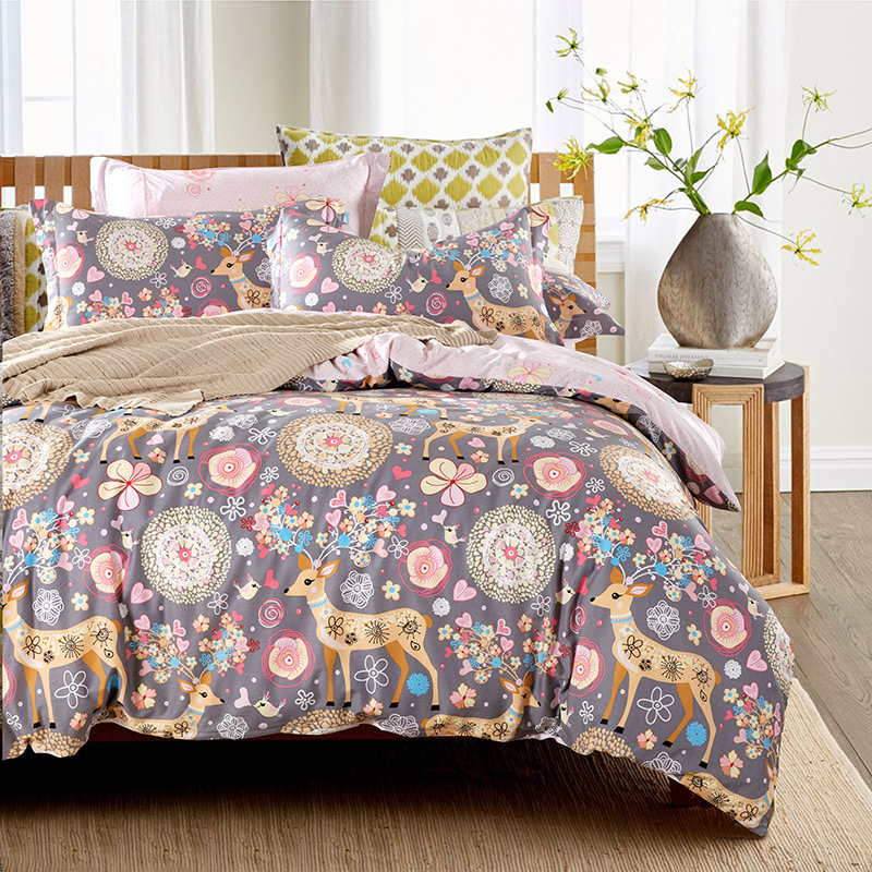 cow bedspread  stunning this item piece cow print bedding sets twin size cotton duvet cover sets