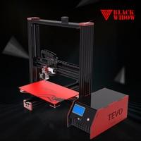 2017 Newest TEVO Black Widow LCD 3D Printer Diy Large Printing Area 370 250 300mm OpenBuild