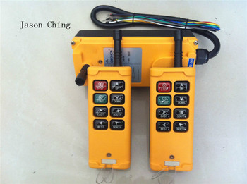 2 Transmitters 3 Motions 1Speed Hoist Crane Truck Remote Controller System HS-8 220VAC