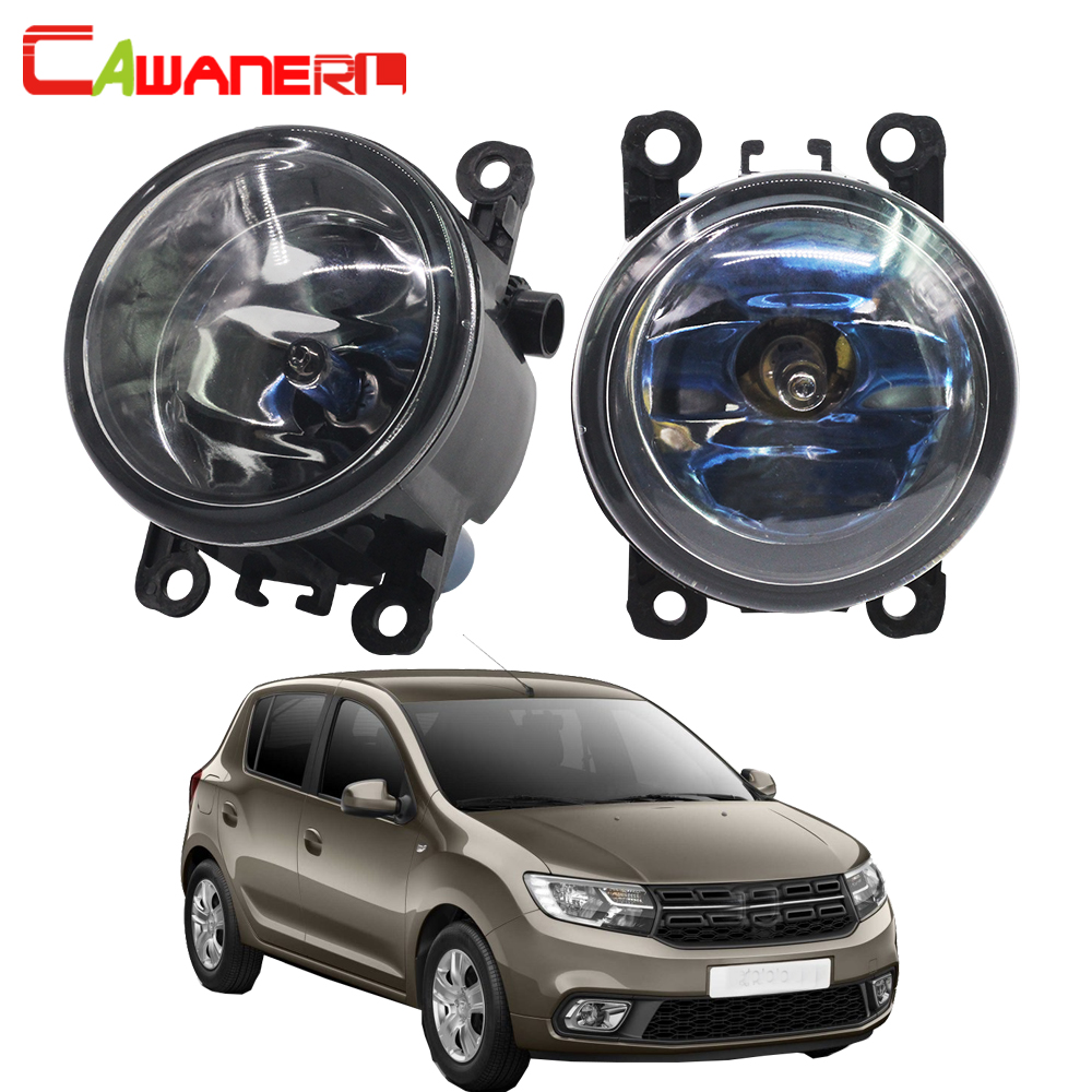 Cawanerl 2 Pieces 100W Car Halogen Front Fog Light Bulb DRL Daytime Running Lamp 12V For Dacia Sandero Hatchback 2008-2015 dacia sandero б у в европе