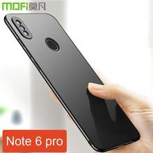 "xiaomi redmi note 6 pro case cover hard back Mofi redmi note 6 cover case global 6.26"" pc plastic xiaomi redmi note 6 pro case"