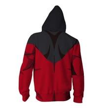 Naruto Itachi Uchiha Zipper Hooded