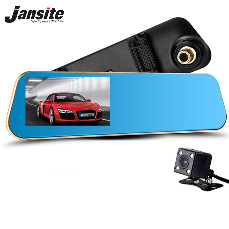 2017 Newest Car Camera Car Dvr Blue Review Mirror Digital Video Recorder Auto Registrator Camcorder Full