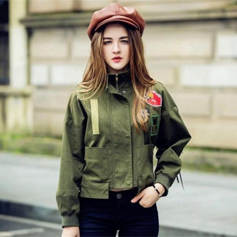 Hot Sale High Quality Coat Outwear Army Green Military -8238