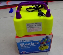 Double hole electric inflator pump,inflator, balloon inflator, latex balloon inflator