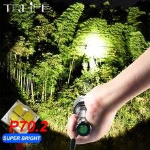 Ультра мощный светодиодный вспышка светильник XHP70.2 кемпинг фонарь лампа XHP50 Водонепроницаемый светодиодный налобный фонарь XHP70 18650 велосипедный светильник
