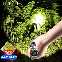 80000Lms Ultra Krachtige LED Zaklamp XHP70.2 Camping Torch Lamp XHP50 Waterdichte Lanterna XHP70 18650 Fiets Licht(China)
