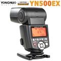 Yongnuo yn500ex yn 500ex yn500 ex speedlite de luz de flash 1/8000 s gn53 ttl para canon 700d 650d 6d 7d 600d 400d 50d 5D