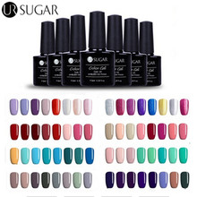 UR SUGAR UV Gel Polish Soak Off Gel Lacquer UV Led 7.5ml Enamel Nail Art Gel Polish Varnish Painting Gel Top Coat Base Coat DIY