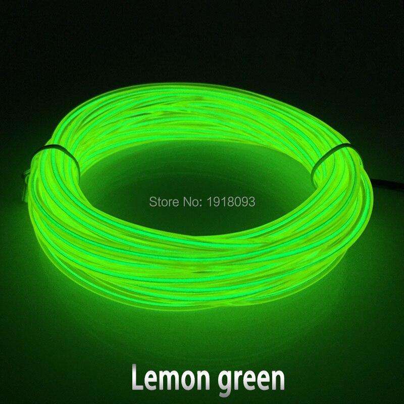 Hot 20 meter 3,2mm 10 farben wahl flexible el draht energiesparende ...