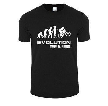 Evolution of font b mountain b font font b bike b font t shirt men women.jpg 350x350
