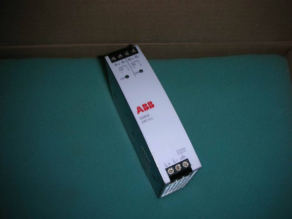 1PC USED ABB SS832 / 3BSC610068R1 1pc used nvar 31 used acs600 abb series inverter power input board