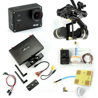 DIY FPV Set With 1000mw Transmitter 7 Inch FPV Monitor Gitup Git2 Camera Tarot TL3T01 Gimbal
