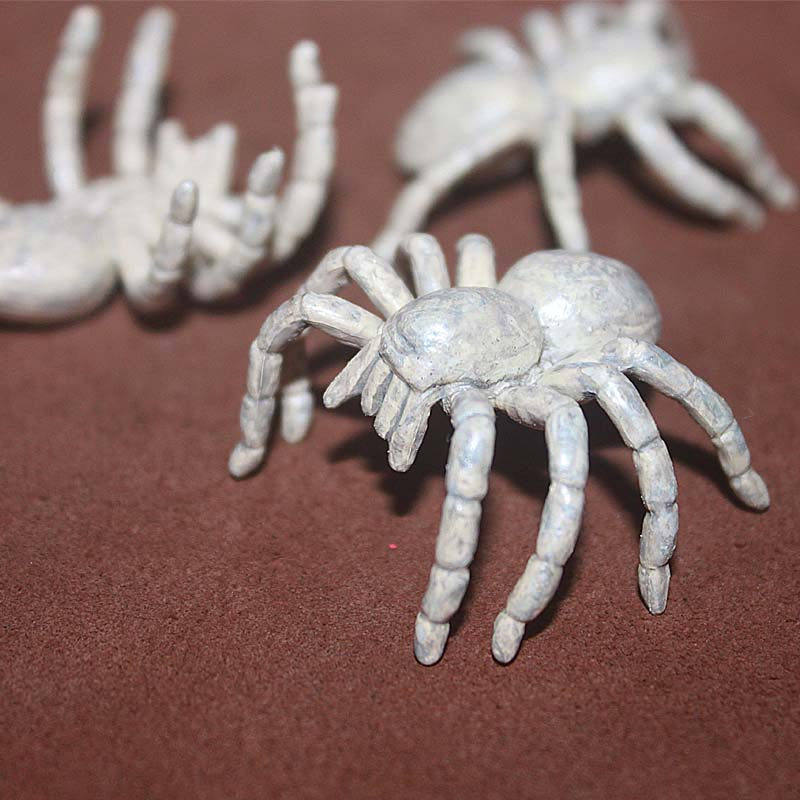 Mini Pvc Figure White Spider Toy Model 6pcs/set Wide Selection; Toys & Hobbies