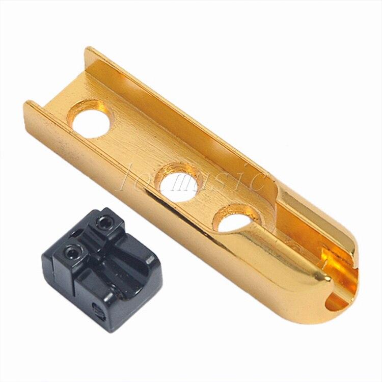 5 pcs or 4 ponts de basse à chaîne unique clé à vis de qualité supérieure pour pièces de rechange de guitare électrique - 3