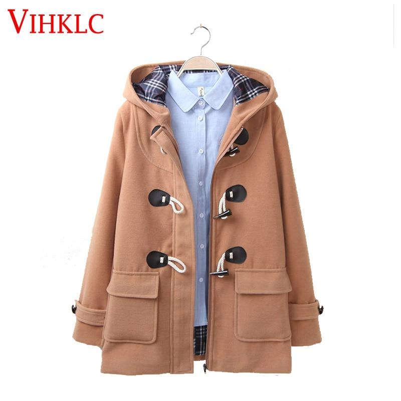 Online Get Cheap Womens Duffle Coat -Aliexpress.com   Alibaba Group