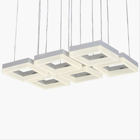 Led the modern restaurant chandelier three fashion simple bar counter lamp creative personality personalized lighting CL