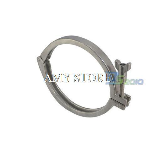 6 159mm Tri Clamp Clover 304 Stainless Steel Heavy Duty Fit OD 183 MM Ferrule tri clamp clover for od ferrule stainless steel ss sus 304