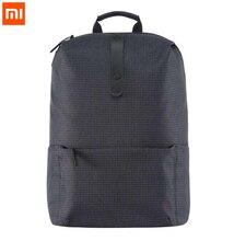 Orijinal Xiaomi sırt çantası rahat eğlence okul öğrencileri büyük 15.6 inç 26L erkekler kadınlar seyahat çantaları için Macbook hava dizüstü 13.3 12