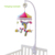 SHILOH Cuna Giratorio móvil con 60 Canciones 0-12 Meses Recién Nacido Del Bebé Cama Cuna de Juguete móvil Apagado AUTOMÁTICO Campana Recién Nacido Cuna juguetes