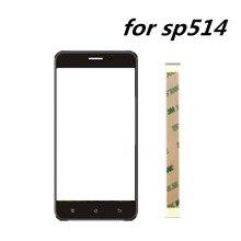 Nowy 5.0 cal ekran dotykowy dla irbis sp514 ekran dotykowy szkło panelem dotykowym szklana soczewka w celu uzyskania