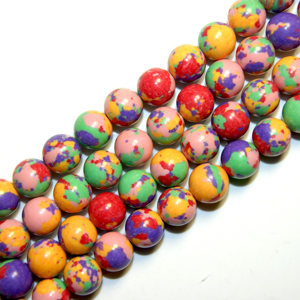 Wholesale 4 6 8 10 12 MM Natural Stone Beads Colour Stone Malachite DIY Creation Of Jewelry Beads Do It Yourself Bracelet