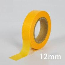 Живопись ленты лейкопластырь бумага желтая лента 18 м модель маскировки высокого качества Горячая