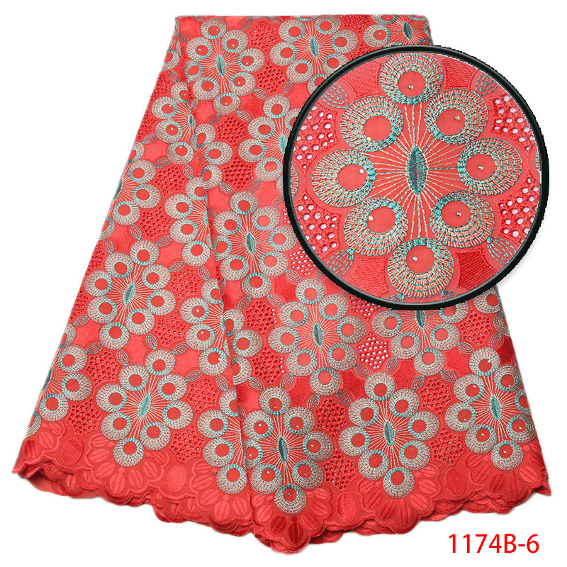High Quality Swiss Voile Lace 2017 African Lace Fabric African Swiss Cotton Voile Lace Fabric With