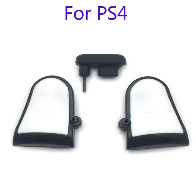 3 in 1 R2 L2 Einstellbare Trigger Extender W/staubstecker Dual Löst Befestigung für Playstation PS4 Dualshock 4 PS4 Slim PS4 Pro