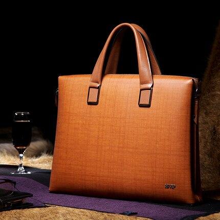 BVP-Original Design High-end Brand Super Quality (14 inch Laptop Case) Men Briefcases Portfolio Totes Office Handbags T1010 J20 bvp high end 100