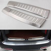 Inside Rear Bumper Protector Trim Sill Cover Plate Fit For Honda CR V CRV 2012 16