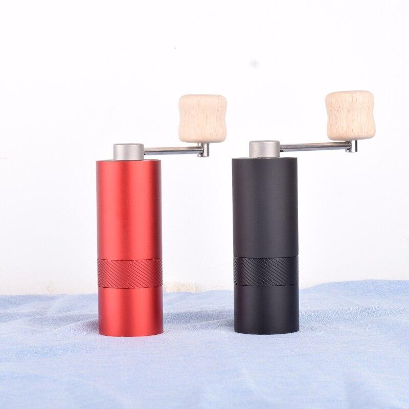 مصغرة دليل طاحونة القهوة المحمولة القهوة مطحنة القهوة المنزلية أدوات الفولاذ المقاوم للصدأ لدغ-في مطاحن القهوة اليدوية من المنزل والحديقة على  مجموعة 1