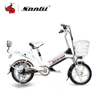 SONGI Electric Vehicle Mini Ladies Electric Scooter Portable Scooter For Adults Variable Speed Electric Vehicle TDN269Z