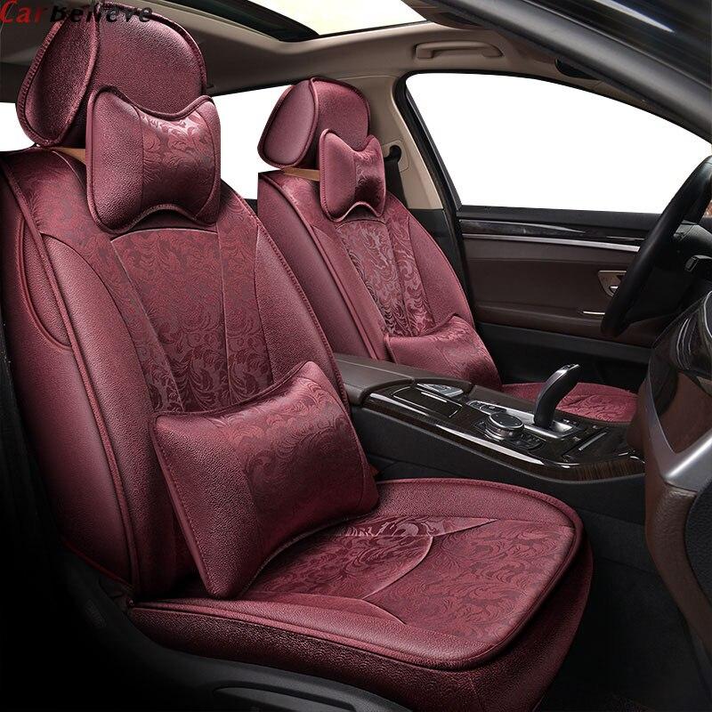 Auto Geloven Auto Seat Cover Voor Peugeot 206 407 508 308sw 301 3008 2017 205 307 207 406 Auto Accessoires Covers Voor Stoelhoezen