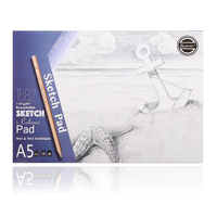 Superior 110gsm A5 Sketch Pad 40 Sheets  Acid Free Drawing Sketch Books For School Supplies