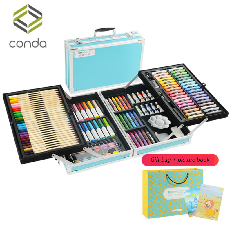 Children's Non-toxic Painting Sets, Watercolor Strokes, Painting Tools, Kindergarten Children Gifts, Art Supplies, Color Pens