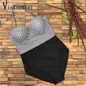 d36d31530d68f Women Swimwear Push Up Underwire Women Slim Bathing Suit Vintage Hit Color  One Piece