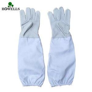Перчатки для пчеловодства FB, 1 пара, овчина + дышащий материал, инструменты для пчеловодства, универсальная модель, холщовые перчатки, мы про...