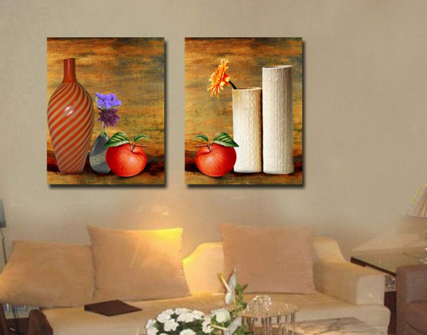 3P Picture Canvas Paintings Modern Still Life Wall Pictures For Living Room