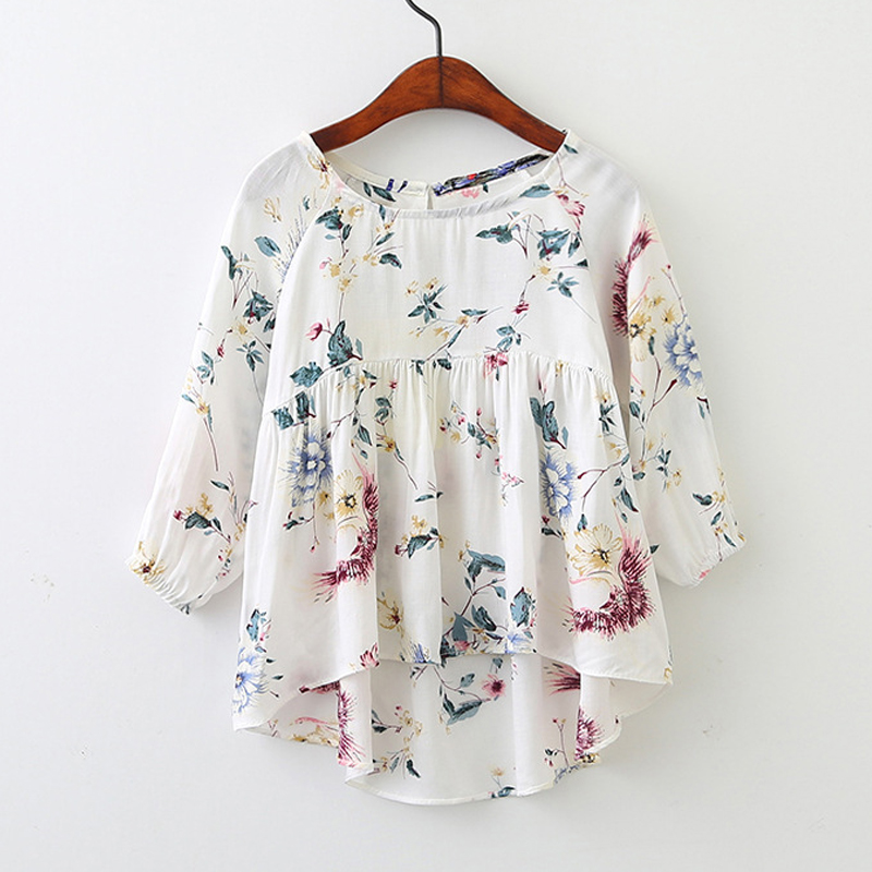 Kids Clothing New 2018 Autumn Summer Party Folds Girls Dress Printing Doll Shirt Dress Long Sleeve For Baby Kids Clothing uoipae party dress girls 2018 autumn